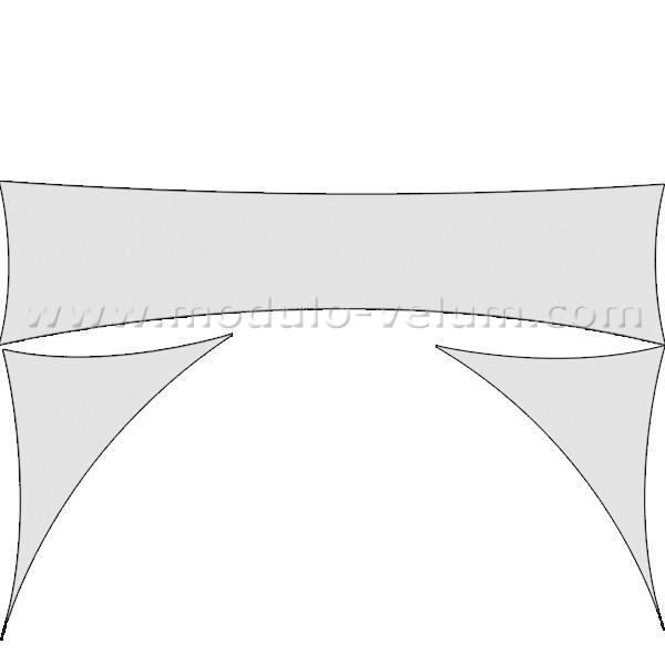 Kit de décoration scénique 10 banderoles