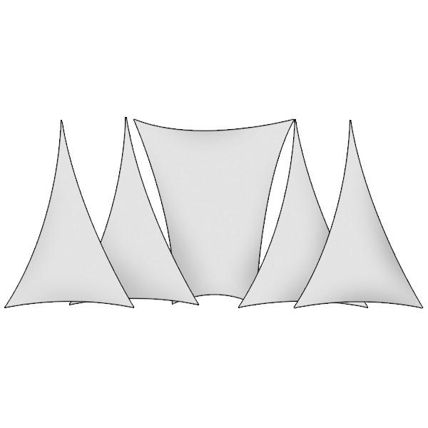Kit de décoration scénique trapèze